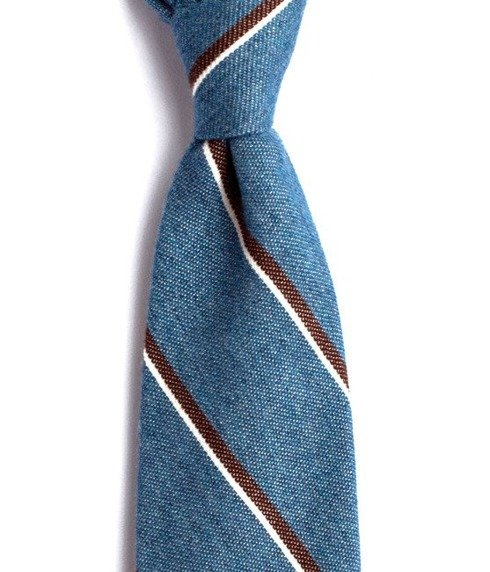 UNTIPPED CASHMERE blue TIE