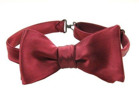 bow tie silk