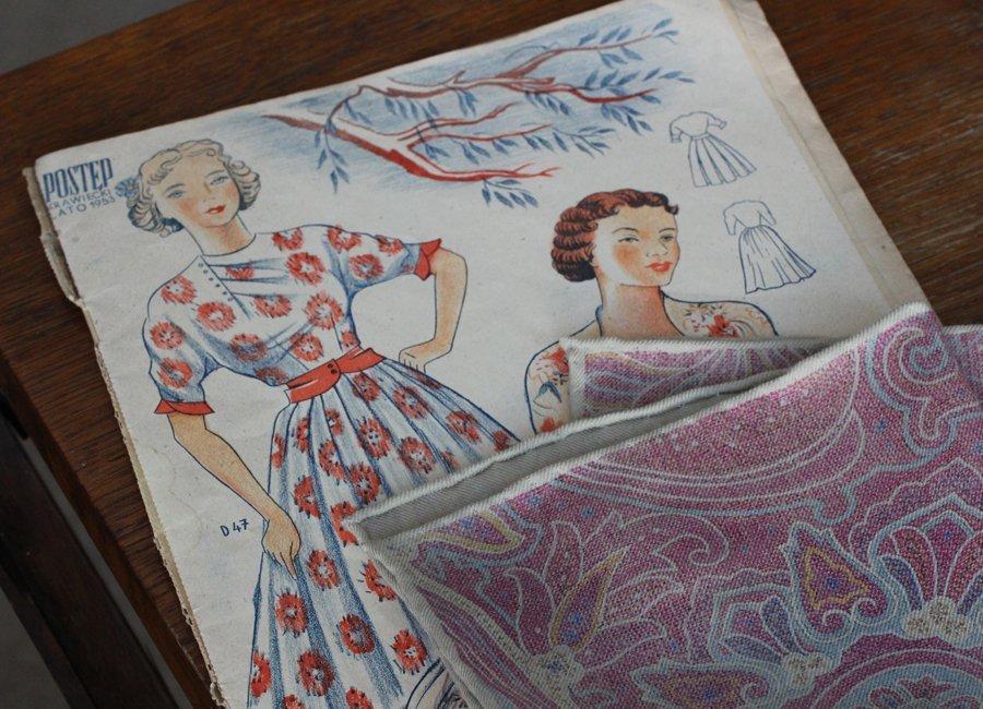 Vintage Pocket Square 52