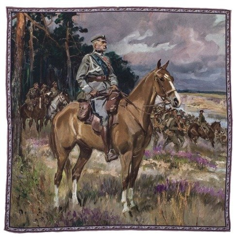 Artworks collection 'Piłsudski on Horseback' Wojciech Kossak