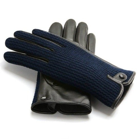 Blue navy gloves