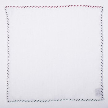 LINEN POCKET SQUARE - ONE thread - FOUR COLORs (ON JULY 10-28 JULY, WE DO NOT IMPLEMENT ORDERS)