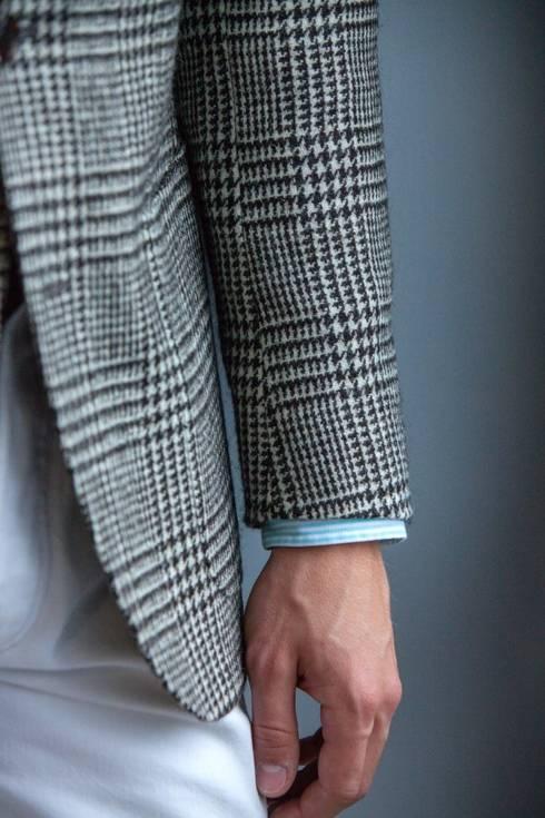 Preorder: undyed wool blazer