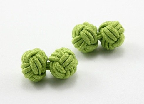 Silk knot lime