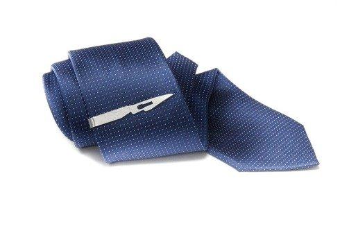 Silver Tie Clip Scalpel
