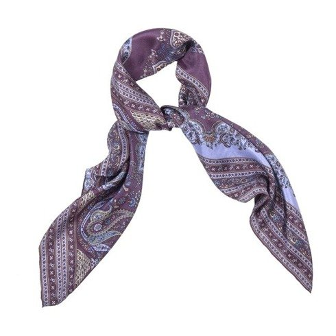 Woman's scarf with handrolled edges 45 cm