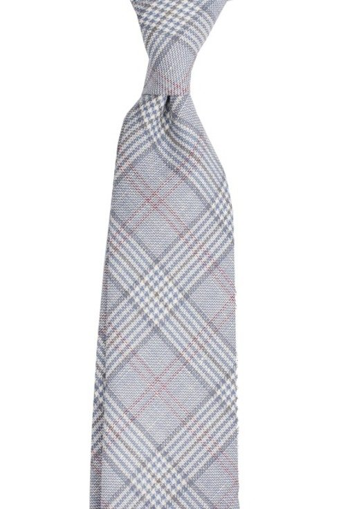 Wool & Linen untipped PoW tie