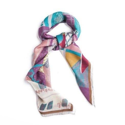 Wool and Silk SILESIA scarf