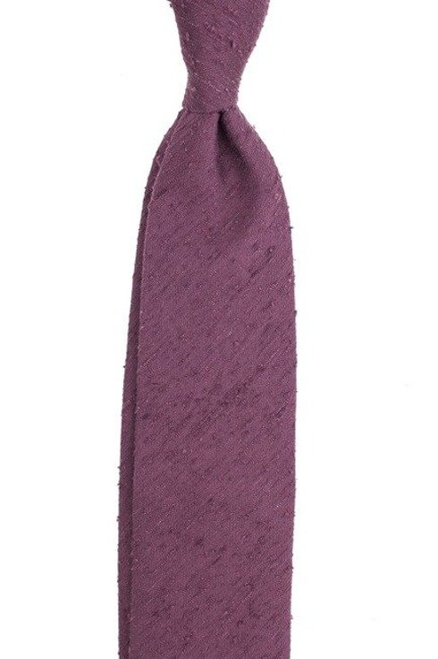 beaujolais UNTIPPED shantung tie