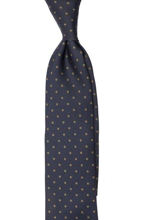 dark blue Macclesfield tie