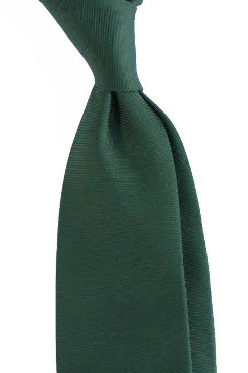 green UNTIPPED WOOLEN  TIE