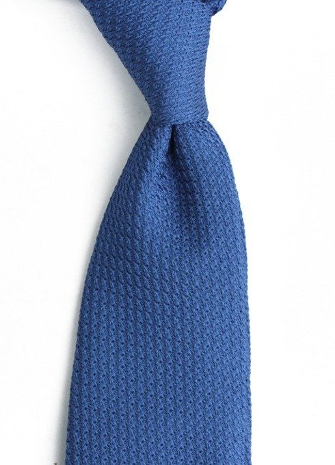 light blue grenadine tie (garza grossa)