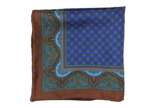 madder wool pocket square