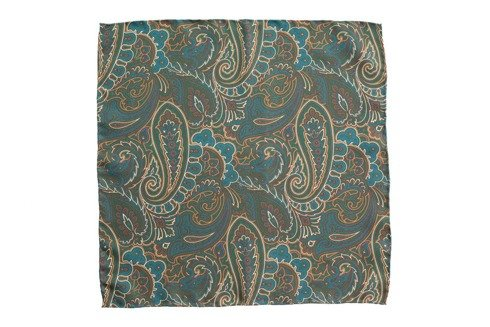 pocket square paisley 40 cm x 40 cm