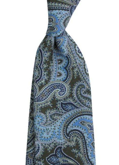 printed wool tie TIE