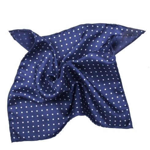 silk polka dots pocket square