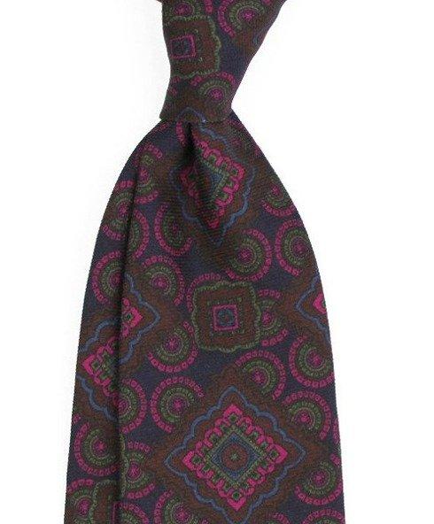 untipped wool challis tie
