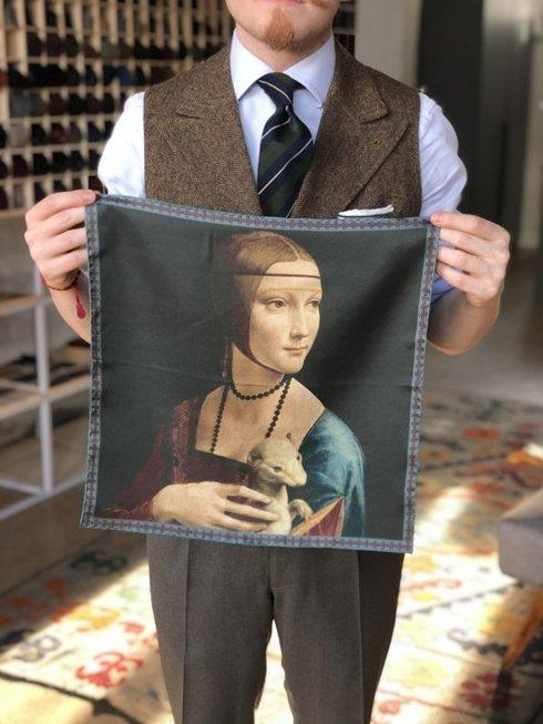 Artworks collection 'Lady with an Ermine' Leonardo da Vinci