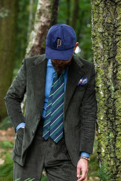"""Corduroy suit """"William"""""""
