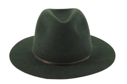 Dark green woolen hat