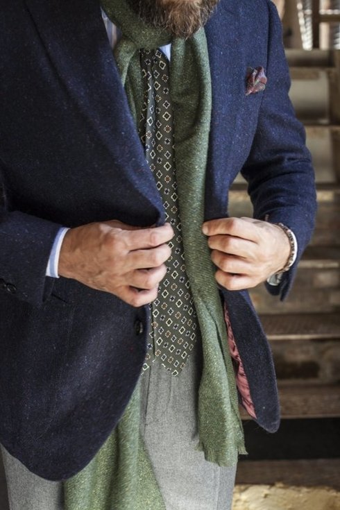 Donegal tweed sports jacket  'Roger'