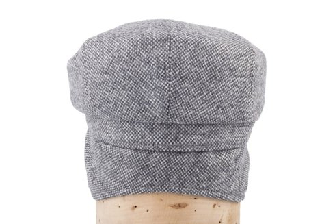 Grey driver's cap with ear flaps Marling & Evans