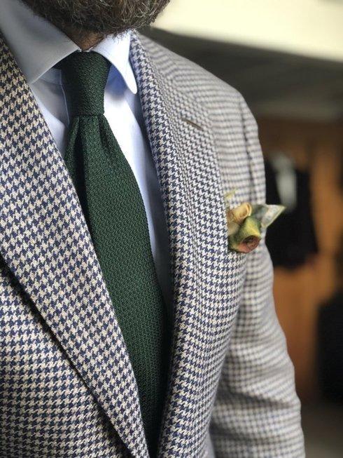 Houndstooth jacket 'Marlon'