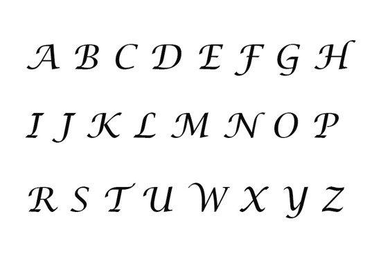 Inscription Lucida 1-4 characters