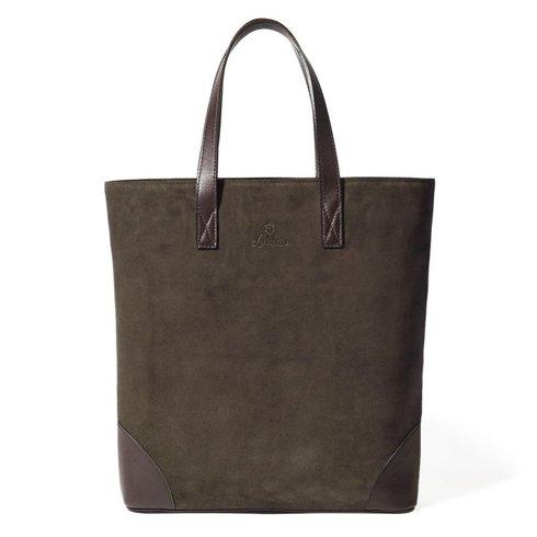 PREORDER: suede Tote Bag Sartolane (brown)