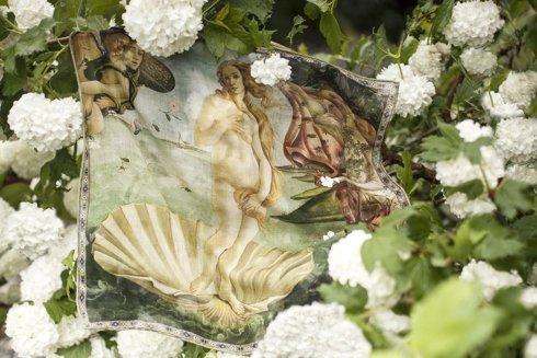 Pocket square 'The Birth of Venus' Sandro Botticelli