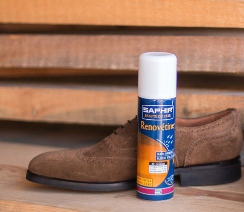 Renovetine renovating spray for suede and nubuck 200ml / light brown