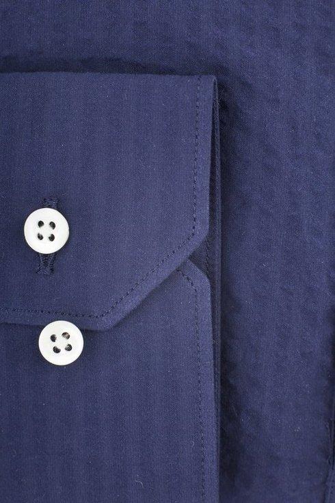 Seersucker Navy blue cutaway popover