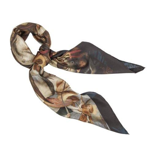 Silk 65 cm scarf 'The Fall of the Rebel Angels' Pieter Bruegel the Elder