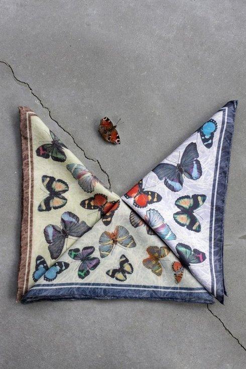 Silk pocket square- limited edition