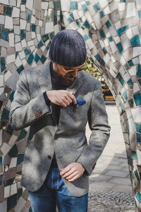 Tweed sport jacket 'Marlon'
