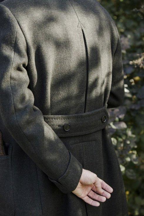Ulster overcoat racing green