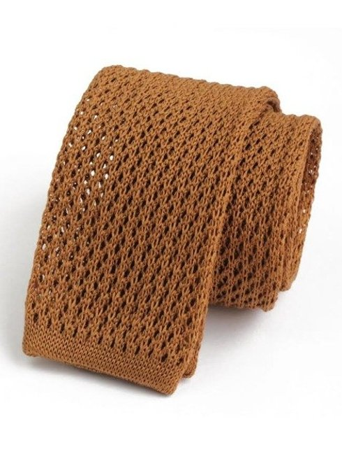 cotton knitted tie