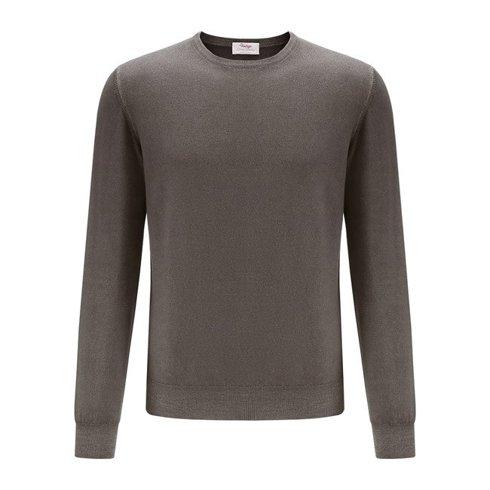 light merino wool sweater light brown