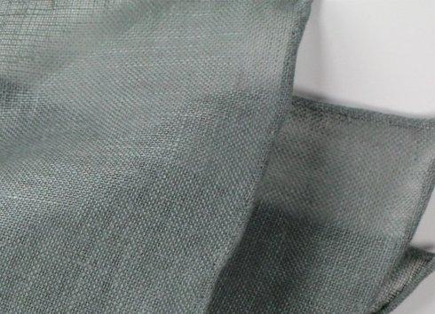 linen pocket square green