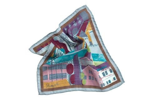 pocket square 'silesia'