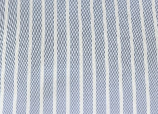 poszetka bawełniana niebieska