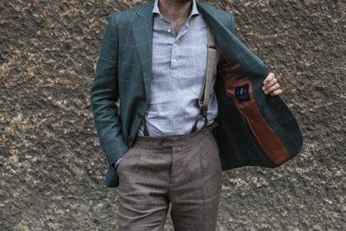 preorder: wool-linen sport jacket 'Marlon'