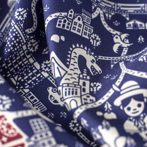 silk 45cm scarf POLAND Jan Kallwejt