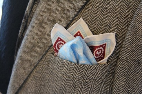 silk pocket square Poland !