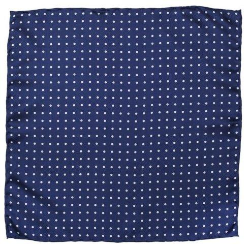 silk polka dots pocket square