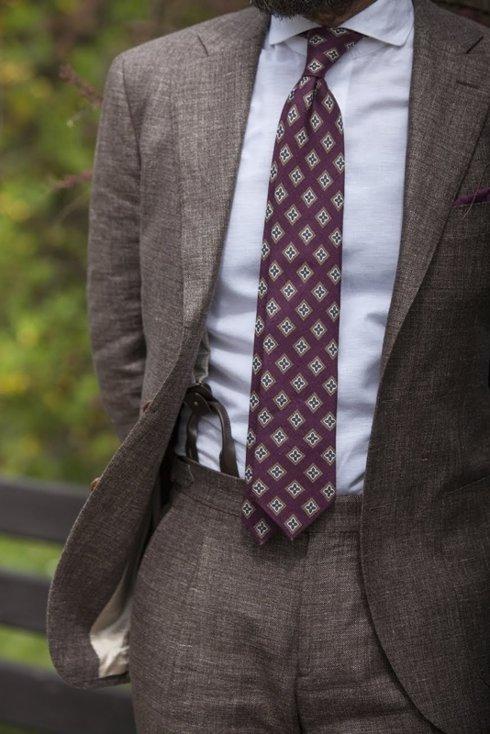 wool-linen suit 'Garda'