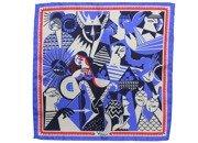 silk pocket square zodiac virgo/maiden