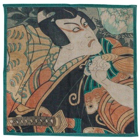 KOLEKCJA JAPOŃSKA Kunisada, Aktorzy Ichikawa Danjuro VII i Ichikawa Danjuro V