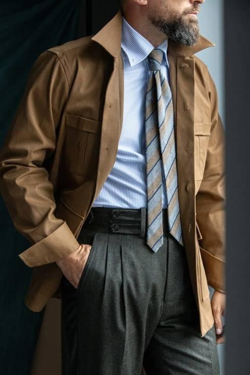 Preorder: overshirt musztardowy