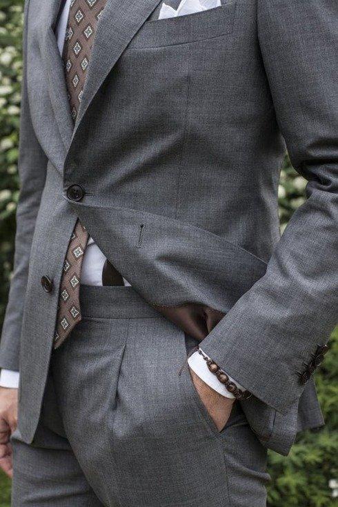 "Ultralekki garnitur ""Portofino"" 2.5 guzika"